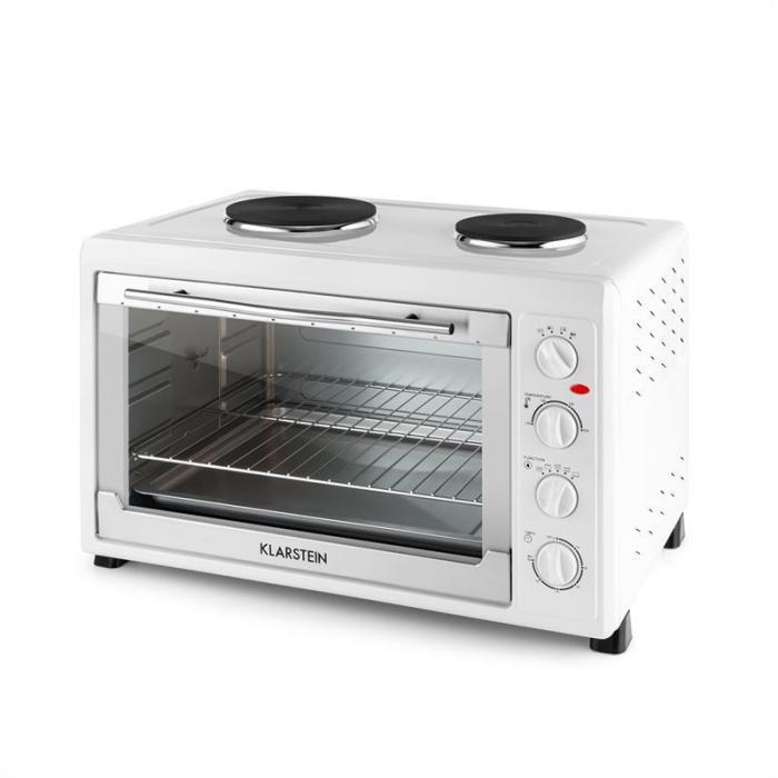 MasterChef 60 Mini Oven 2500W + 1600W 60 Litre Stainless Steel White