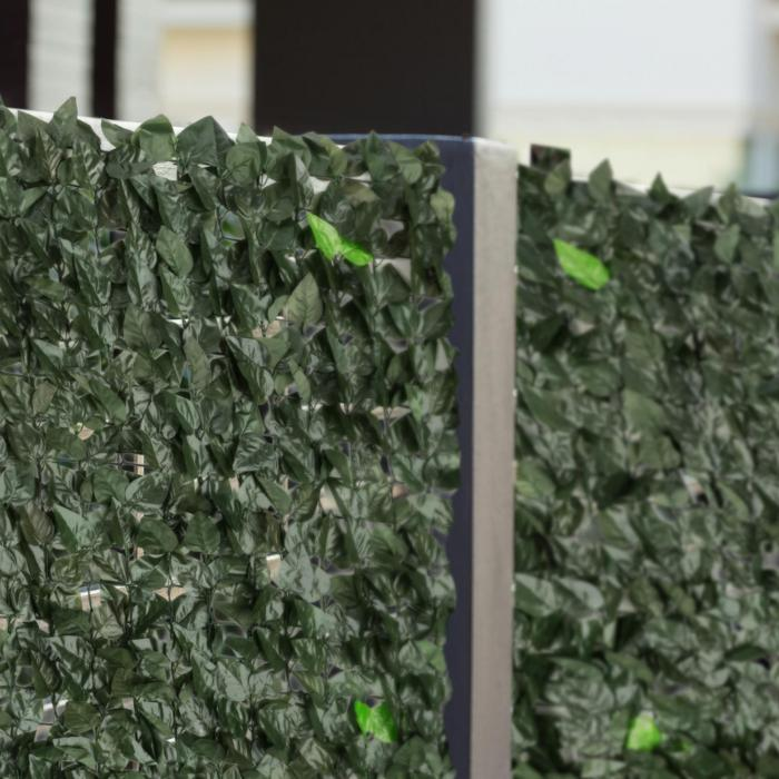 Fency Dark Leaf Recinto Privacy Antivento 300x100 cm Mix Verde Scuro