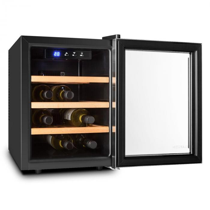 Reserva 12 Uno Nevera para vino 12 botellas 33 L Acero inoxidable LED