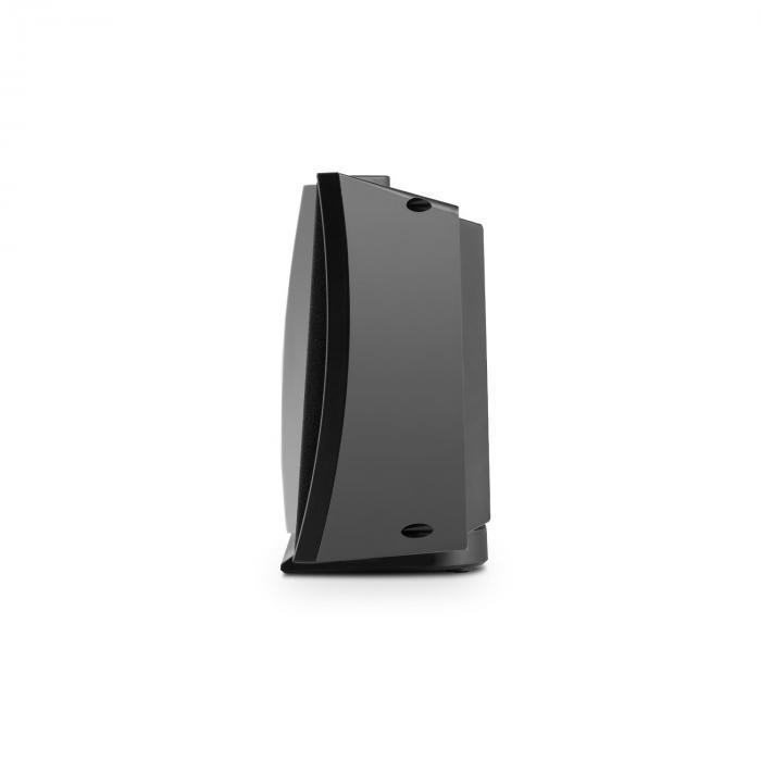 V-15 Impianto Stereo CD USB MP3 OUC AUX Sveglia Nero Montaggio Parete