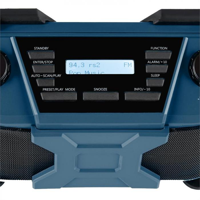 Worksite Altoparlanti Esterno DAB+ Bluetooth FM USB