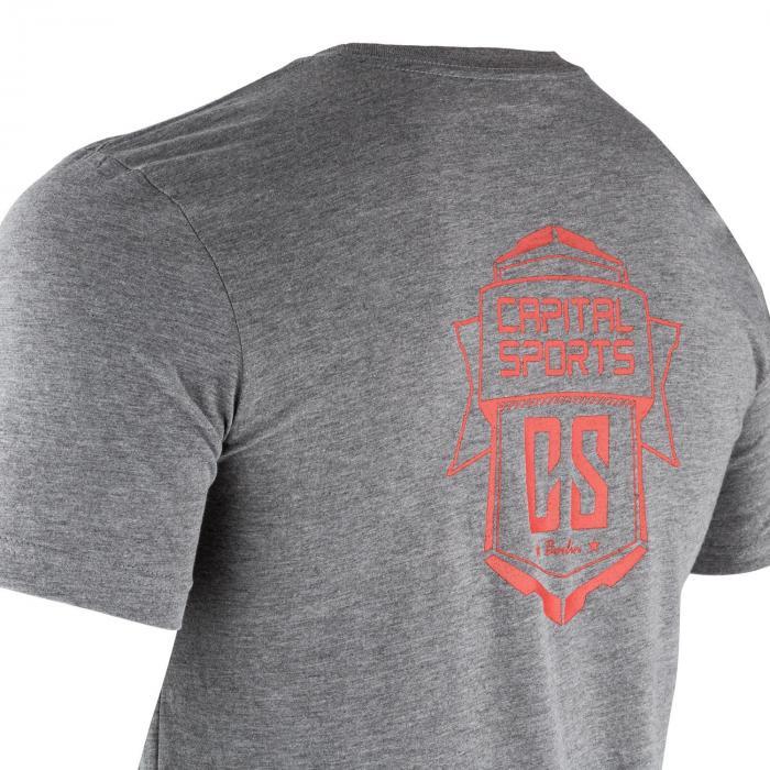 T-shirt Sportiva Da Uomo Taglia S Grigio Melange
