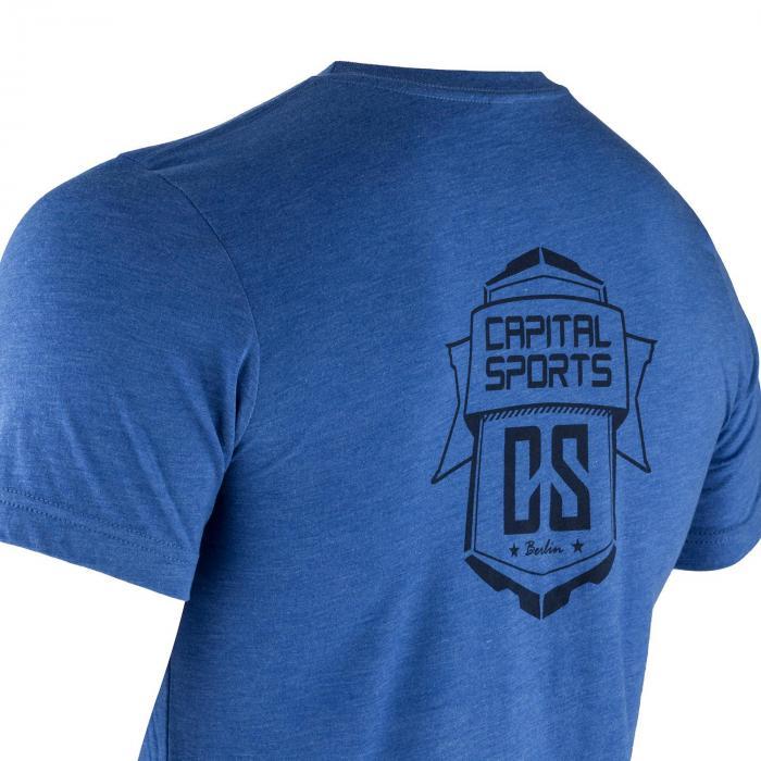 T-shirt Sportiva Da Uomo Taglia L True Royal