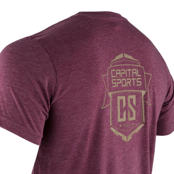 T-shirt Sportiva Da Uomo Taglia L Bordeaux