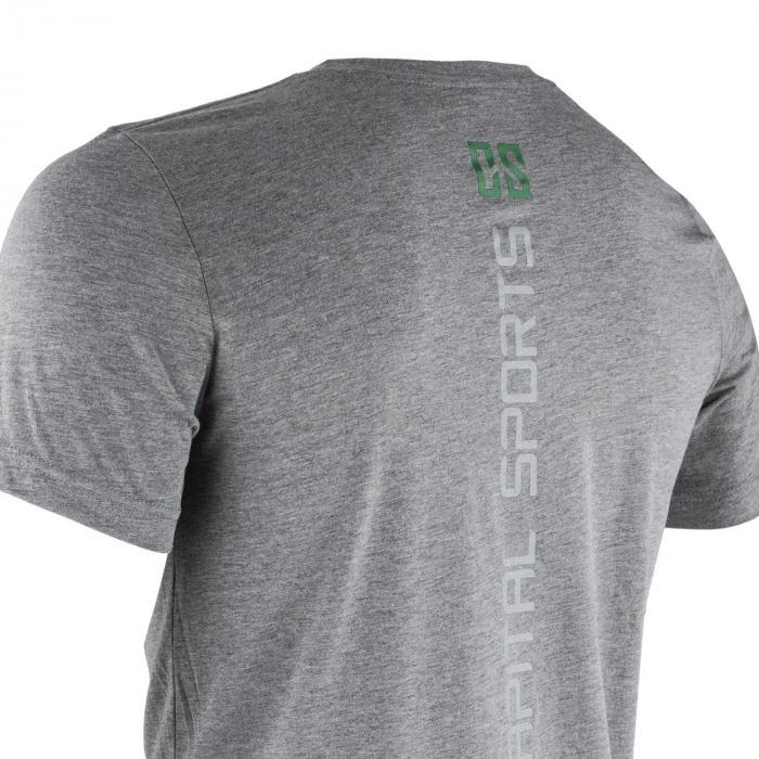 Treenipaita T-paita miehille koko XL meleerattu harmaa