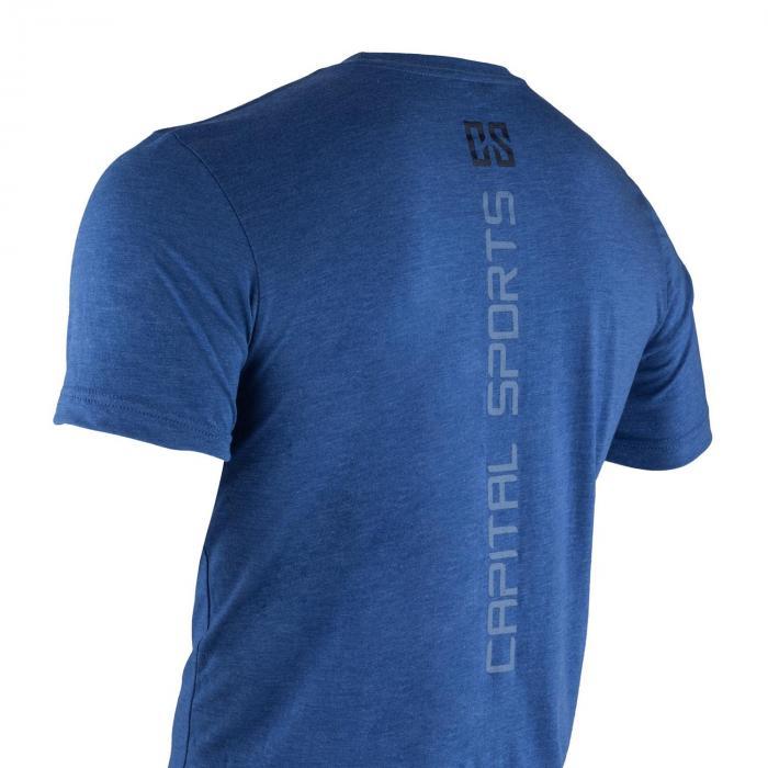 Treenipaita T-paita miehille koko S sininen