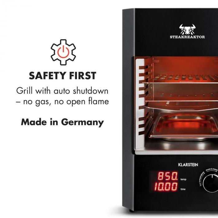 Steakreaktor 2.0 Grill da Interni 850 °C 1600W infrarossi