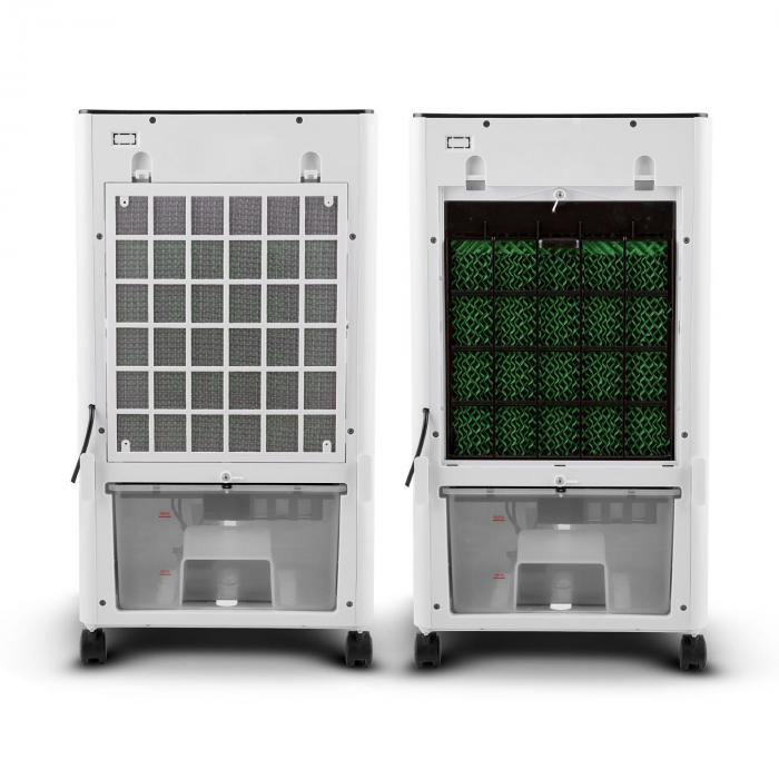 MCH-1 V2 jäähdytyslaite tuuletin ilmankostutin 3 in 1 siirreltävä 65 W
