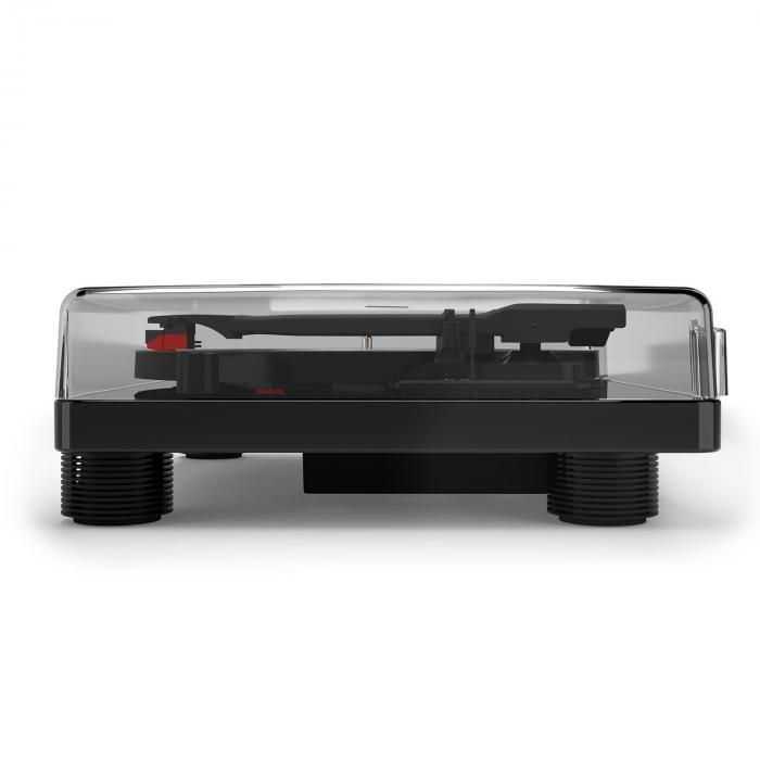 TT Classic BK retrolevysoitin USB linjaulostulo kaiuttimet musta
