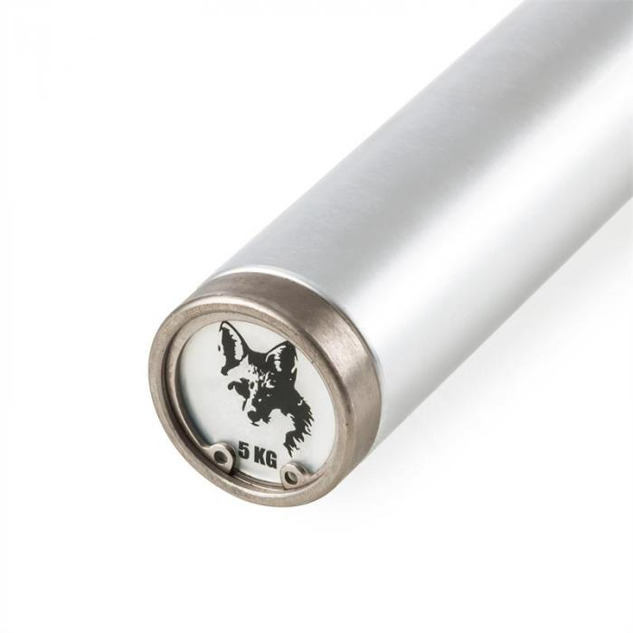 Foxbar Bilanciere Alluminio 5Kg Argento