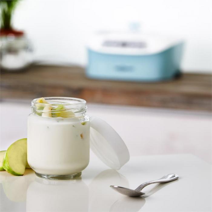 Yogi-Center Joghurtbereiter 6x170ml Glasbehälter 240 h Dauerbetrieb