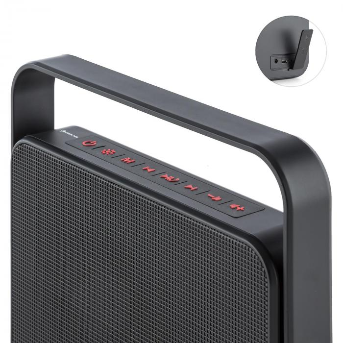 Dazzl 5.0 Altoparlante Bluetooth LED Aux Batteria Vivavoce mobile