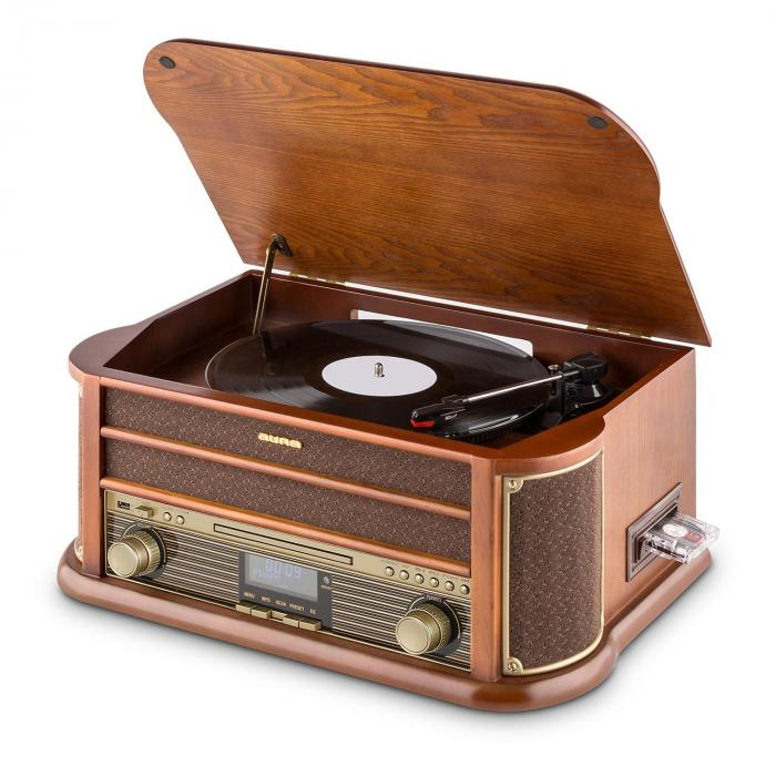 Belle Epoque 1908 DAB Retro Stereo Turntable DAB+ Bluetooth