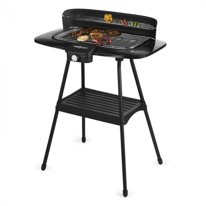 Satansbraten XXL sähkögrilli jalallinen grilli pöytägrilli 2200 W