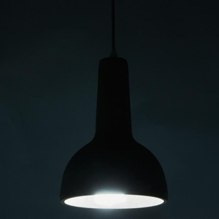 Sonnenstein Studie 8 betonhanglamp pendellamp industrie design