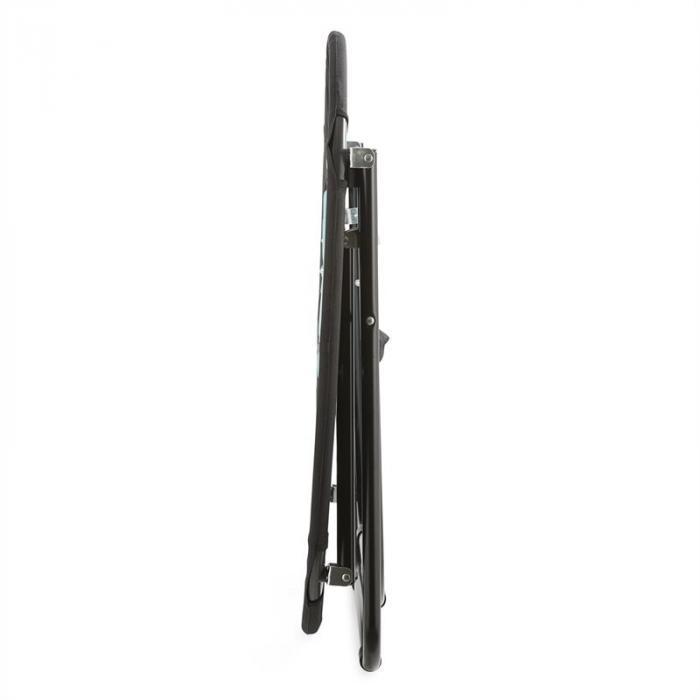 Bounco Sedia Bungee con elastici 81x41/85cm nera/blu