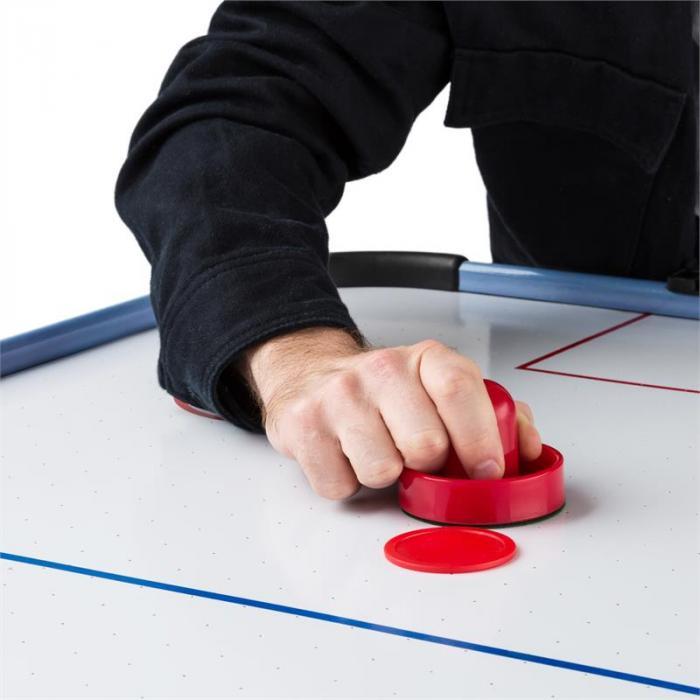 """OneConcept Polar Battle Airhockey-bort 6"""" 76x82x161 cm (BxHxT) silver"""
