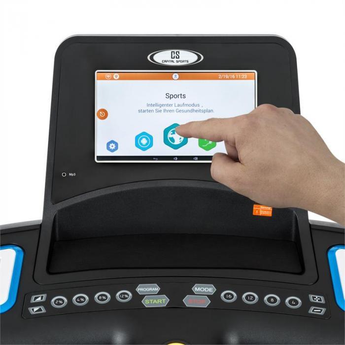 Pacemaker Touch sähköinen juoksumatto kosketusnäyttö sykemittari