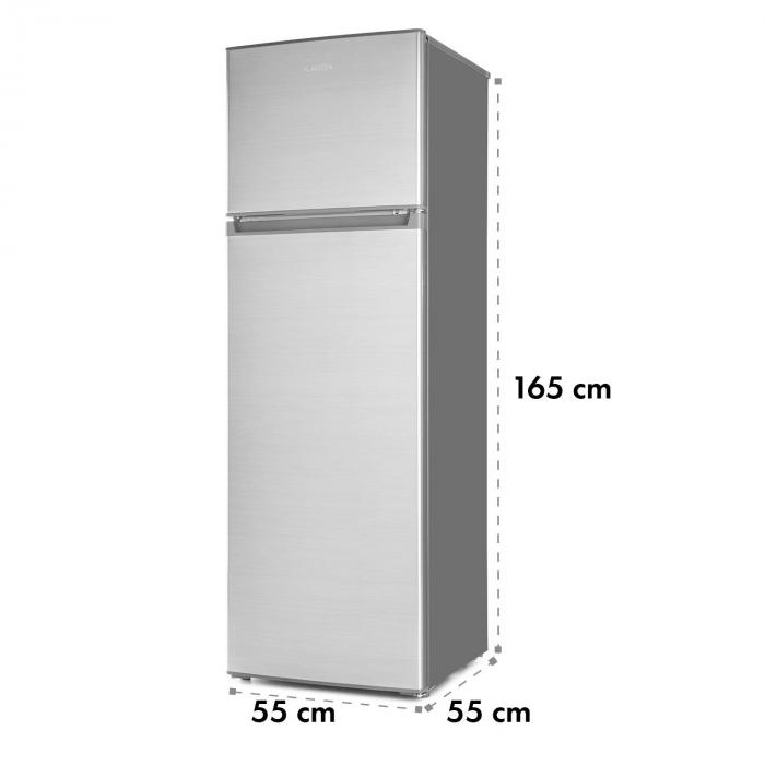Height Cool Silver Frigorífico c/Congelador 199/53l L 2 Portas A ++ Prateado