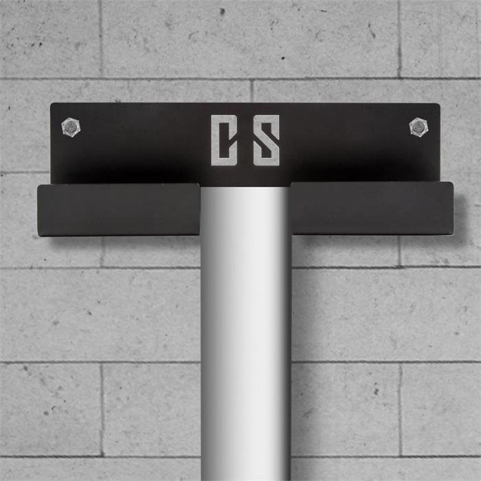 Rowhold Roddanordningshållare (vägg) Stål Pulverlackerad svart