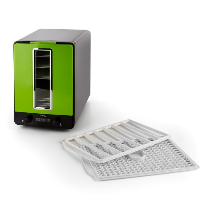 Fruitcube Dehydrator 550 W 10 Floors Dehydrator Black/Green