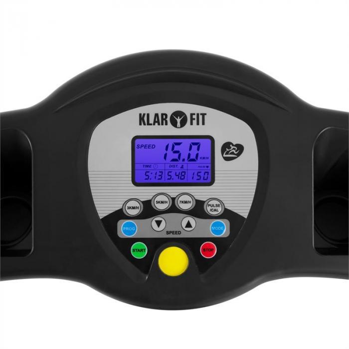 Pacemaker X3 bieżnia trenigowa 1,5 PS 12 km/h czujnik tętna 3 stopnie kąta nachylenia 12 programów