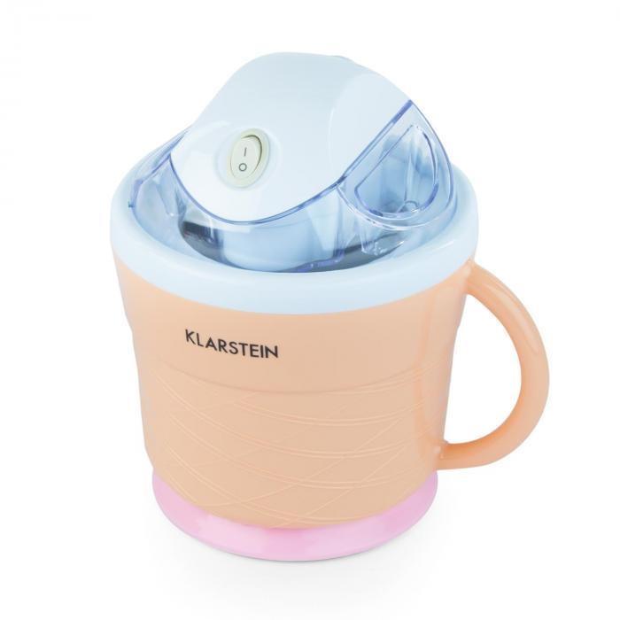 IceIceBaby jäätelökone 0,75 l kahva 7,3-9,5 W vaalea persikanvärinen
