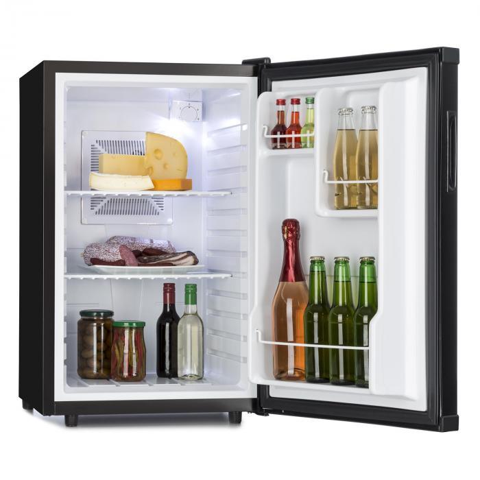 Beerbauch jääkaappi minibaari huoneeseen 65 l luokka A musta