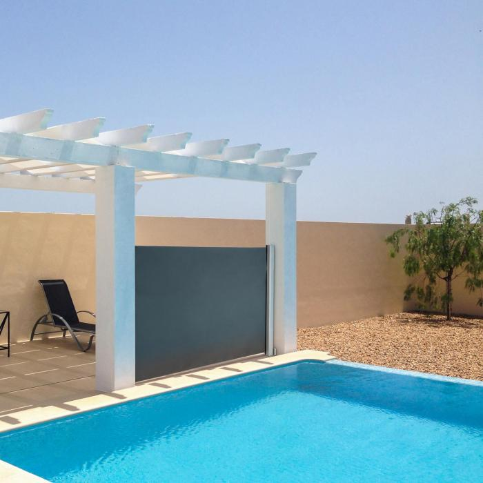 Cosmo balcony awning balcony3 in 1 sun protection 150x200cm anthracite