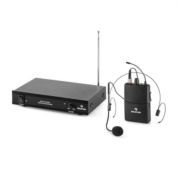 VHF-1-HS Radiomicrofono VHF 1 Canale Headset 50M