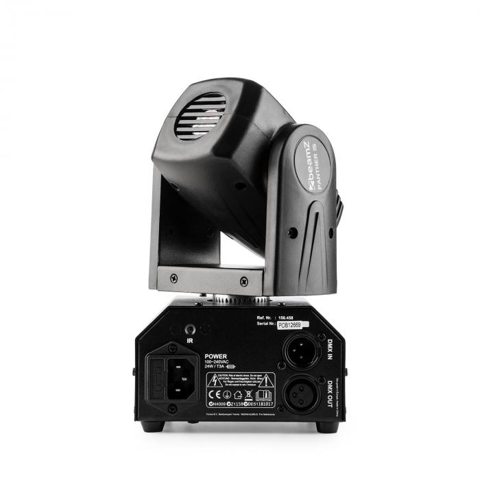 Panther 15 Pocket moving head -kohdevalo 4 in 1 Cree-LED-valot 10 W