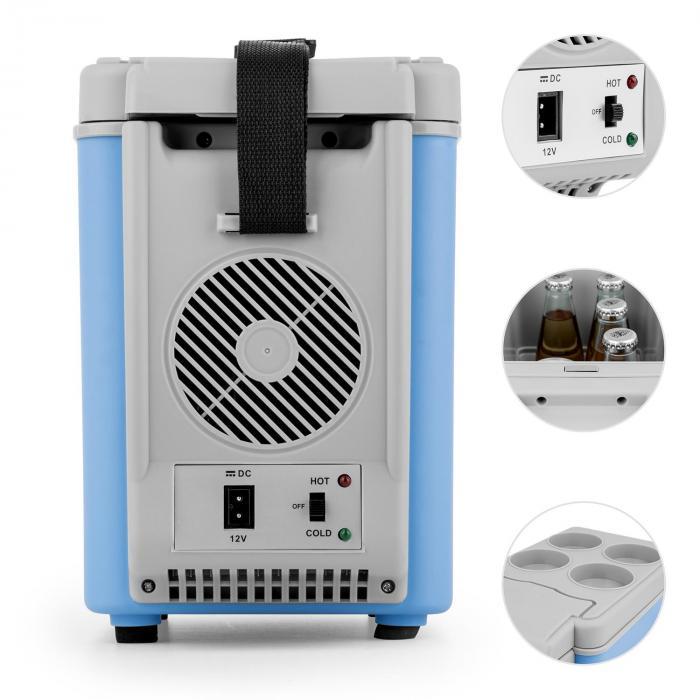roadtrip mini thermo k hlbox 6l 12v adapter auto blau blau online kaufen elektronik star de. Black Bedroom Furniture Sets. Home Design Ideas