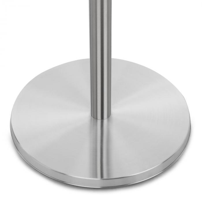 Heat Guard Infrarot-Heizstrahler Terrasen-Heizpilz 2100W IP44 silber