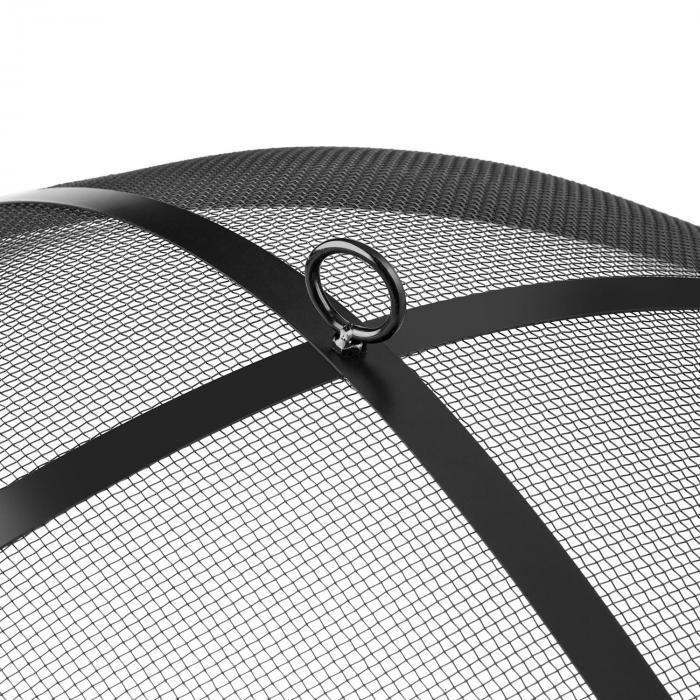 mithras feuerschale 75cm funkenschutz 60cm grillrost gusseisen stahl online kaufen. Black Bedroom Furniture Sets. Home Design Ideas