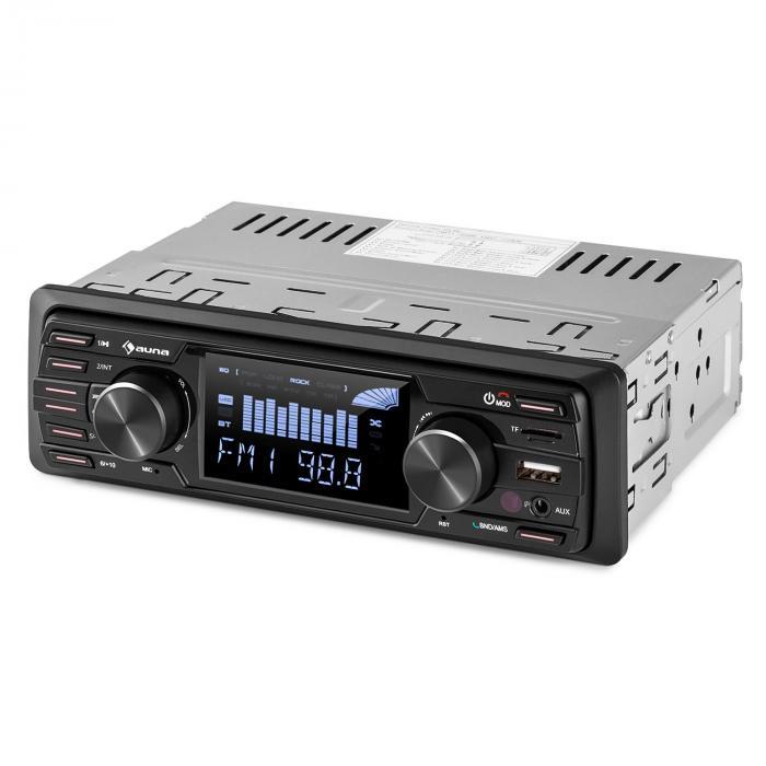 """MD-350BT autostereot ei CD-pesää BT USB SD MP3 4 x 45 W max. 3"""" LCD AUX kaukosäädin"""