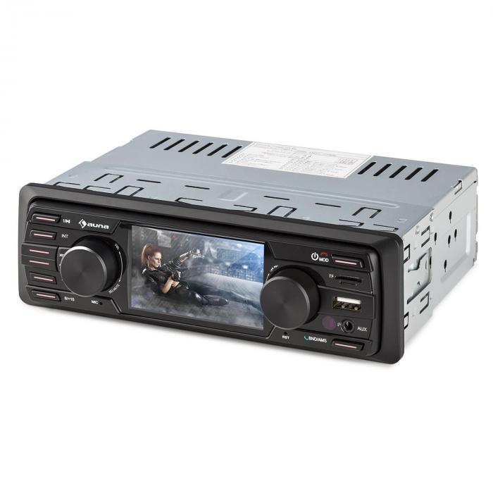 """MD-350BT Autoradio/Moniceiver Deckless BT USB SD 3""""TFT AUX Telecomando"""