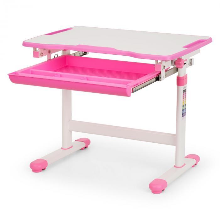 Annika kinderschreibtisch set 2tlg tisch stuhl h henverstellbar pink online kaufen - Roller kinderschreibtisch ...