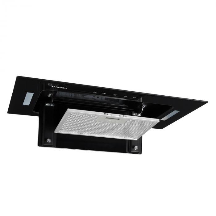 HEKTOR Dunstabzugshaube Beleuchtung Aluminium-Filter Timer