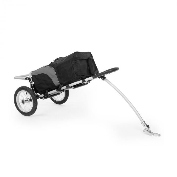 Carry Grey Fahrradanhänger Handwagen max Traglast 20kg schwarz/grau