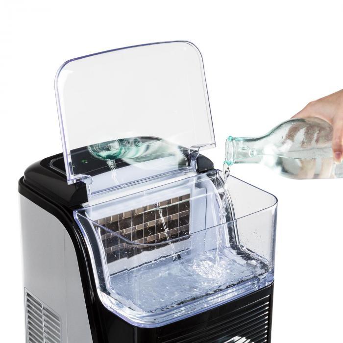 Kristall jääpalakone kristallijää 2 kokoa 2,5l vesisäiliö