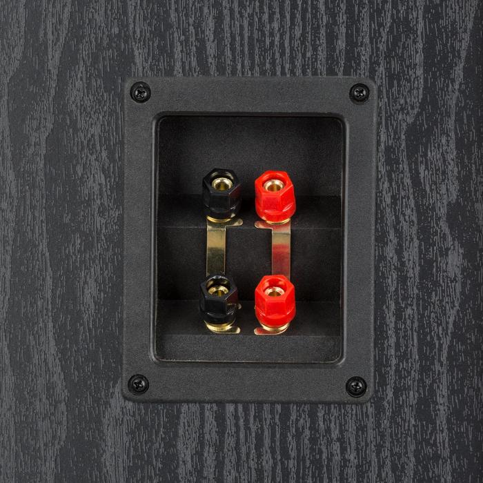 V7B Altoparlanti Verticali Bassreflex a 4 vie 440W Frontale Rimovibile nero