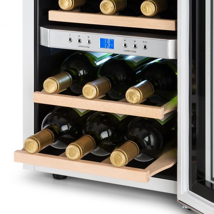 Reserva Cantinetta Frigo per Vini 34l 2 Zone 12 Bottiglie 7-18 °C bianco