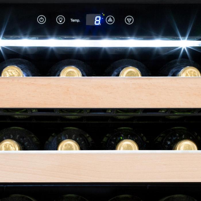 Botella Cura Weinkühlschrank 224 Flaschen LCD-Display Carbon-Filter