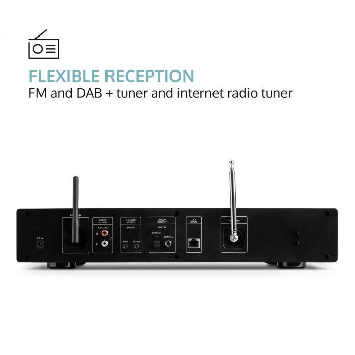 iTuner 320 Sintonizzatore HiFi digitale Web Radio Spotify Connect App-Control