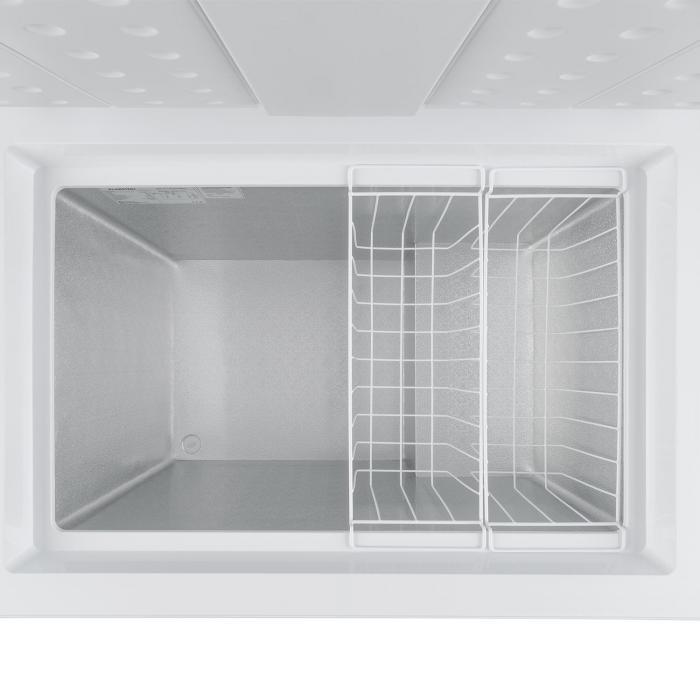 Iceblokk 200 Congelatore Orizzontale A++ 200 Litri 2 Cestelli Rotelle Bianco