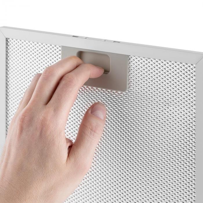 Aluminium-Fettfilter 25,8 x 31,8 cm Austauschfilter Ersatzfilter