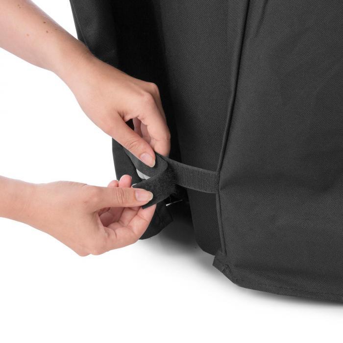 Tomahawk 4.0 Cover Wetterschutzhaube 600D Canvas 30/70% PE/PVC schwarz