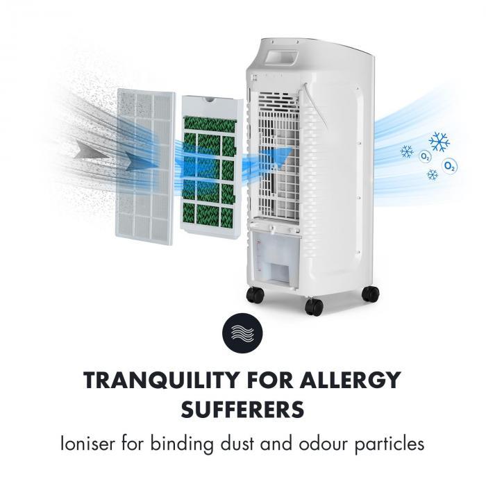 coolster luftk hler ventilator ionisator 65w 320m h 4l tank wei wei online kaufen. Black Bedroom Furniture Sets. Home Design Ideas