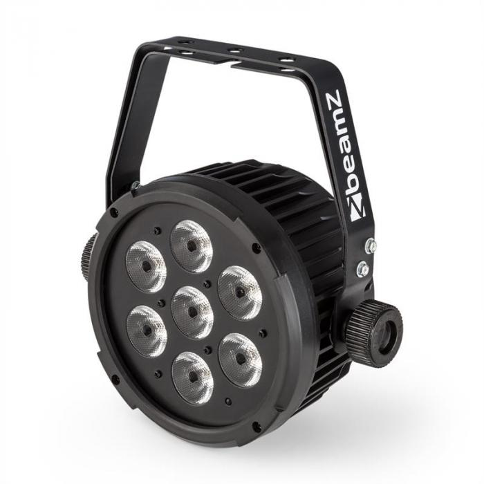 BT280 LED Flat Par Riflettore LED 7x 10W 6in1-LED Telecomando RGBWA UV