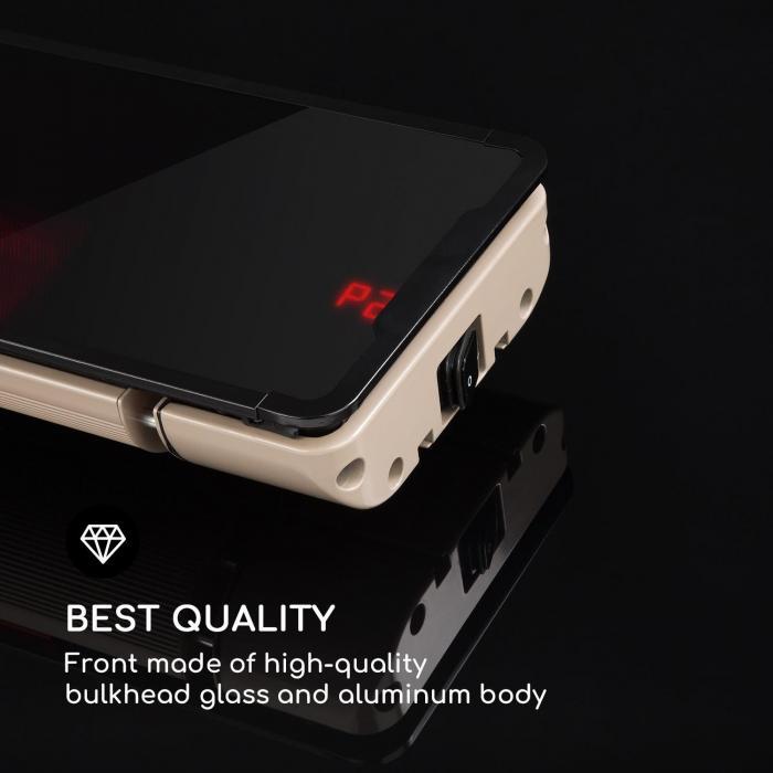 Phantom Plus lämmitin alumiini 800/1200/2400w kaukosäädin harmaa